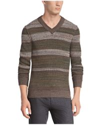 BOSS Orange - Brown 'kayne' | Virgin Wool Alpaca Blend Textured Sweater for Men - Lyst