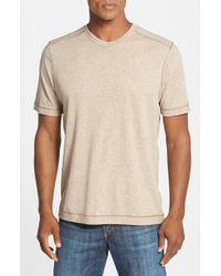Tommy Bahama | Natural Denim 'cohen' Island Modern Fit T-shirt for Men | Lyst