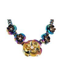 Ziba | Metallic Bellanca Statement Necklace | Lyst