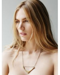 Free People | Green Seaworthy Womens Lanata Necklace | Lyst