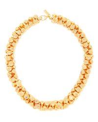 Estelle Dévé - Metallic Meret Goldplated Link Necklace - Lyst