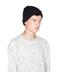 Obey | Black Ruger Monogram Beanie for Men | Lyst
