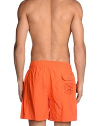 Roda - Orange Swimming Trunk for Men - Lyst