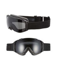 Smith Optics | Black 'i/o' 185mm Snow Goggles for Men | Lyst