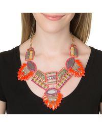Deepa Gurnani | Orange Queen Amidala Necklace | Lyst