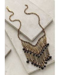 Anthropologie | Black Bahia Pendant Necklace | Lyst