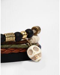 Classics 77 | Brown Chopes Bracelet Pack for Men | Lyst