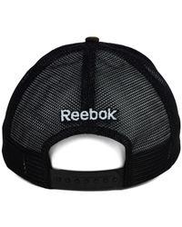 Reebok - Green Anaheim Ducks Camo Trucker Cap for Men - Lyst