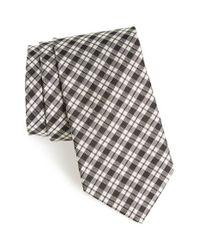 Todd Snyder | Black Plaid Silk Tie for Men | Lyst
