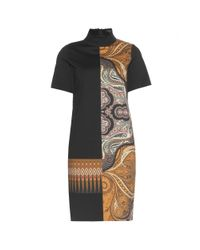Etro - Multicolor Printed Wool-Blend Dress - Lyst