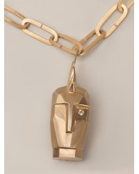 Kelly Wearstler - Metallic 'Head Trip' Pendant Necklace - Lyst