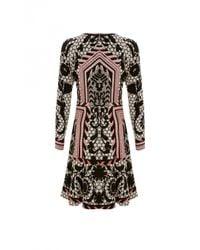 Temperley London | Black Tishka Mini Dress | Lyst