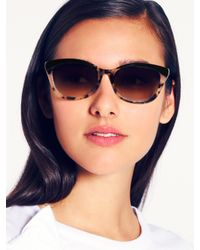 kate spade new york - Brown Amara Sunglasses - Lyst