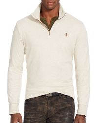 Polo Ralph Lauren | Natural Pima Soft-touch Pullover for Men | Lyst