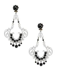 Mercantia | White Earrings | Lyst