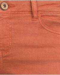 Zara | Red Skinny Trousers | Lyst
