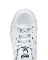 Adidas Originals - Stan Smith Leather Sneakers - White - Lyst