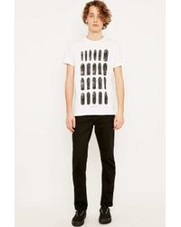 Supremebeing | White Skateboards Tee for Men | Lyst