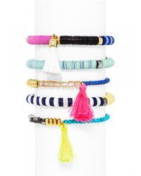 BaubleBar | Multicolor Cape Town Bracelet Set-Neon | Lyst