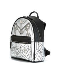 MCM - Black 'bionic Series' Backpack - Lyst