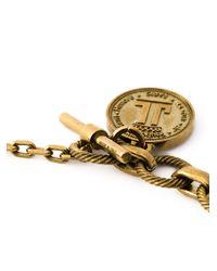 Lanvin   Metallic Toggle Fastening Necklace   Lyst