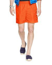 Polo Ralph Lauren | Orange Hawaiian Swim Boxers for Men | Lyst