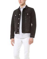 Won Hundred | Black Four Denim Jacket for Men | Lyst