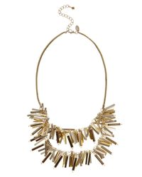 Coast | Metallic Snowy Necklace | Lyst