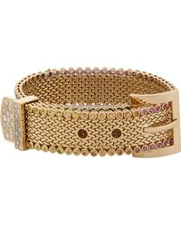Aurelie Bidermann | Metallic Belt Bracelet | Lyst