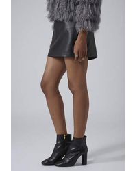 TOPSHOP | Black Magnum Heeled Boots | Lyst