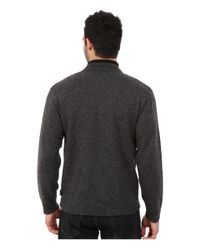 Woolrich - Gray Granite Springs Ii Half Zip for Men - Lyst