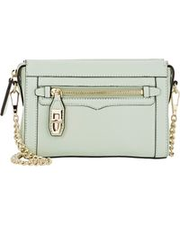 Rebecca Minkoff | Green Crosby Mini Crossbody Bag | Lyst
