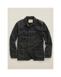 RRL - Black Empire Work Jacket for Men - Lyst