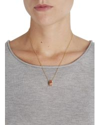 Marc By Marc Jacobs | Metallic Delicate Sweetie Gold Tone Necklace | Lyst