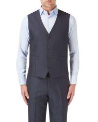 Skopes - Blue Hansen Suit Waistcoat for Men - Lyst