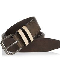 River Island - Dark Brown Belt for Men - Lyst