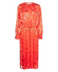 Preen By Thornton Bregazzi - Red Vega Dress - Lyst