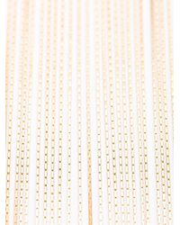 Balmain | Metallic Long Fringed Necklace | Lyst
