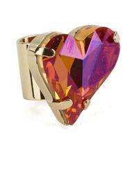 Maria Francesca Pepe | Metallic Heart Earcuff | Lyst