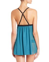 Cosabella - Blue Williamsburg Babydoll - Lyst