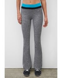 Forever 21 | Black Active Heathered Fit & Flare Yoga Pants | Lyst