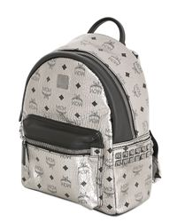MCM | Metallic Stark Side Stud Mini Backpack | Lyst