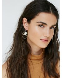 Free People | Metallic Womens Atomic Earrings | Lyst