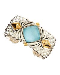 Stephen Webster | Blue Baroque Crystal Haze Cuff | Lyst