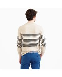 J.Crew - Natural Textured Cotton Beach Sweater for Men - Lyst