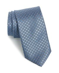 JZ Richards - Blue Geometric Silk Tie for Men - Lyst