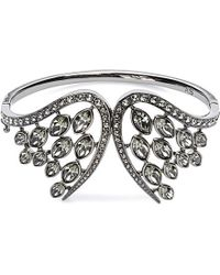 Atelier Swarovski - Metallic Swift Swarovski-crystal Embellished Large Cuff - Lyst