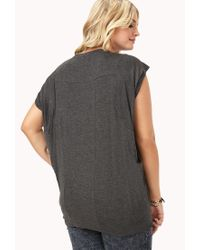 Forever 21 | Gray Plus Size Everyday Dolman Top You've Been Added To The Waitlist | Lyst