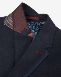Ted Baker | Blue Wool And Cashmere-blend Jacket for Men | Lyst