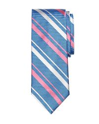 Brooks Brothers | Blue Sidewheeler Stripe Tie for Men | Lyst